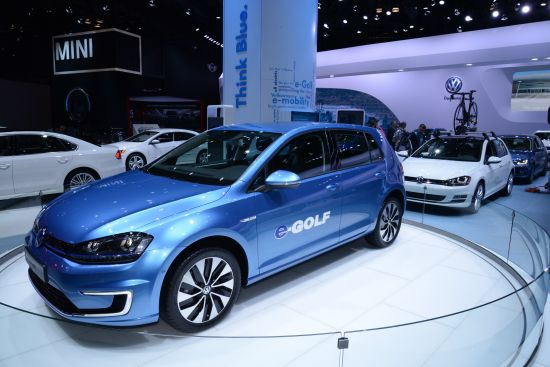 Volkswagen e-Golf New York