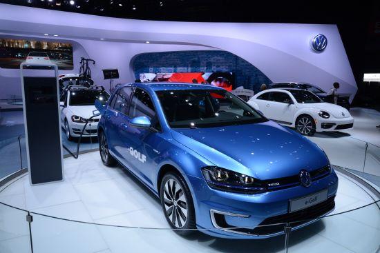 Volkswagen e-Golf New York