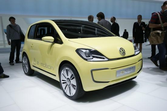 Volkswagen E-Up concept Frankfurt