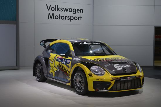 Volkswagen Global Rallycross Beetle Chicago