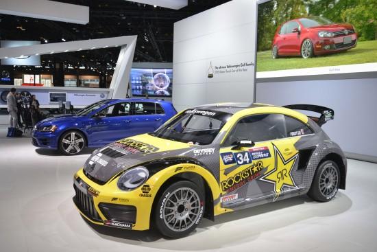 Volkswagen Global Rallycross Beetle Chicago
