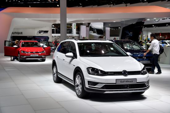 Volkswagen Golf Alltrack Paris