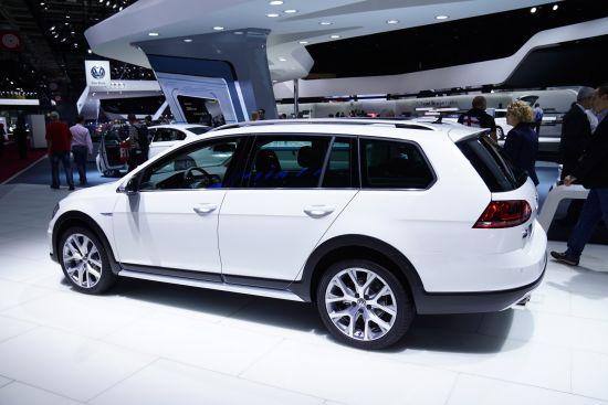 Volkswagen Golf Alltrack Paris