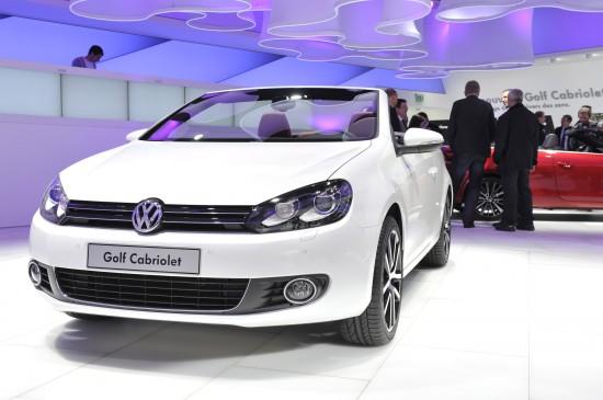 Volkswagen Golf Cabriolet Geneva
