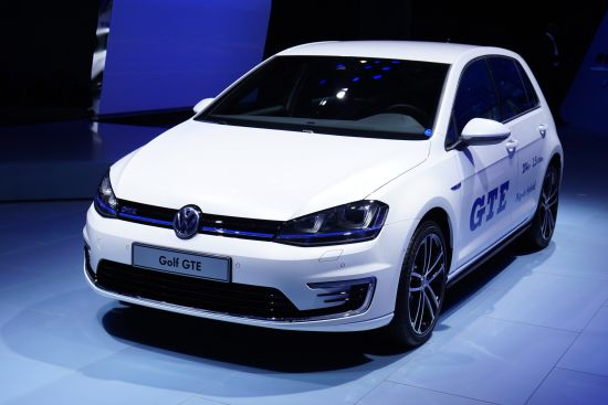 Volkswagen Golf GTE Paris
