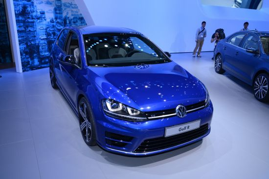 Volkswagen Golf R New York