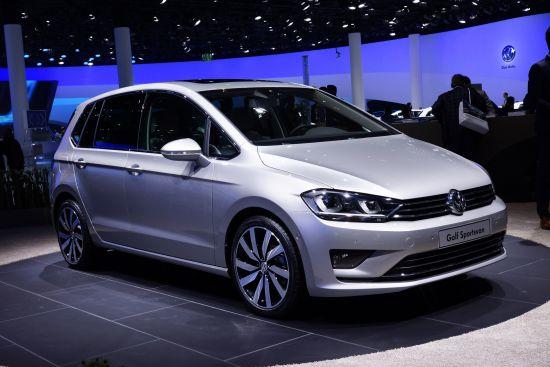 Volkswagen Golf Sportsvan Frankfurt