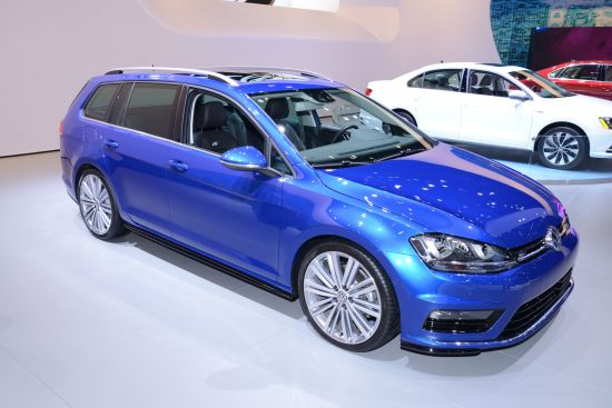 Volkswagen Golf SportWagen Concept New York