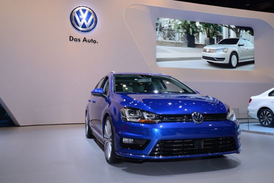 Volkswagen Golf SportWagen Concept New York