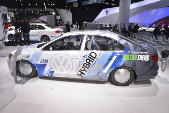 Volkswagen Jetta Land Speed Record Vehicle Los Angeles