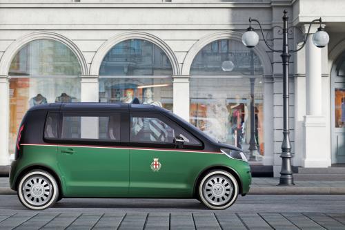 Volkswagen выводит на экран его Milano Taxi concept в Ганновере 2010