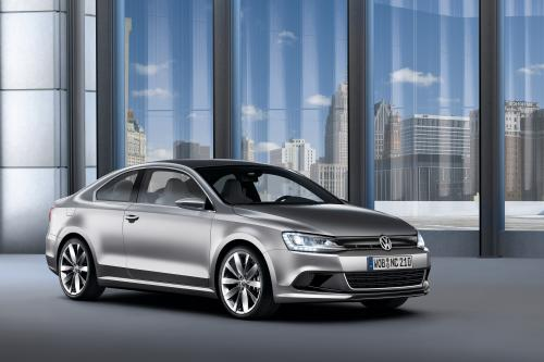 Volkswagen раскрывает New Compact Coupe concept