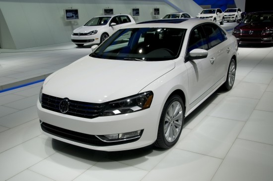 Volkswagen Passat US version Detroit
