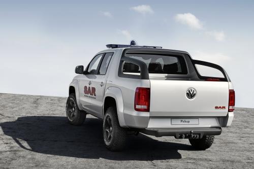 Volkswagen демонстрирует новый 1-тонный Пикап концепции