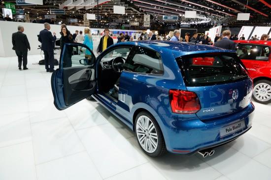 Volkswagen Polo BlueGT Geneva