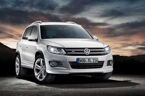 Volkswagen Tiguan R-Line Обновления
