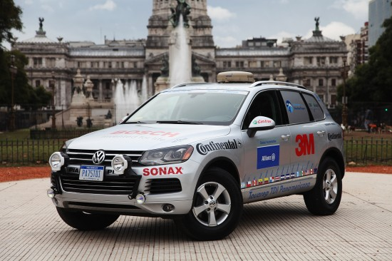 Volkswagen Touareg 3.0 TDI Clean Diesel World Record