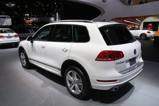 Volkswagen Touareg R-Line Detroit