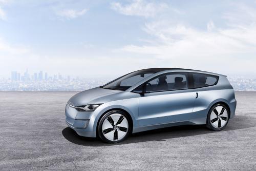 Volkswagen Up! Lite concept сдувает LA толпы