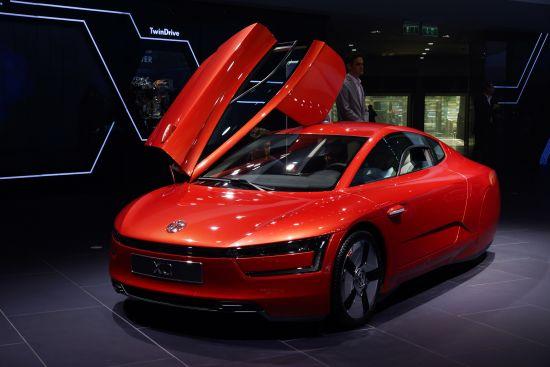 Volkswagen XL1 Frankfurt
