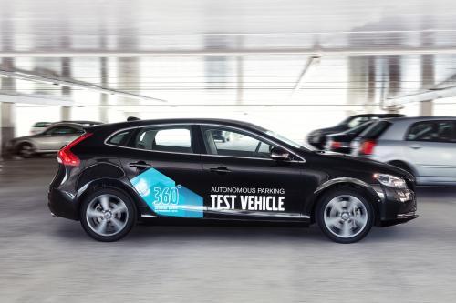 Volvo Автономной парковка концепции [видео]