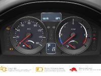 The Volvo C30 Battery Electric Vehicle (BEV) instrument panel