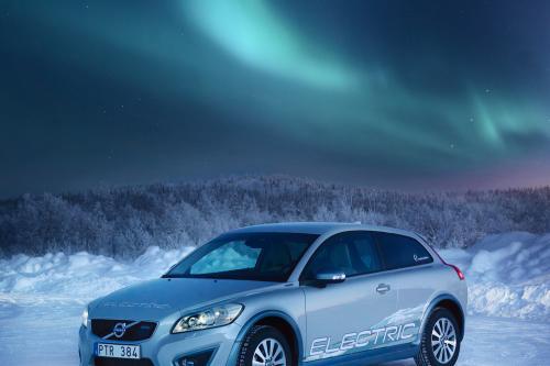 Volvo C30 Electric теплый и Нечеткий