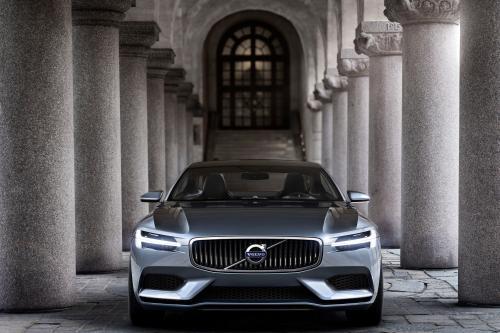 Volvo Concept Coupe Показывает Будущий Язык Дизайна Бренда