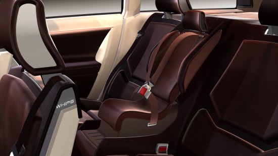 Volvo Integrated Booster Cushion