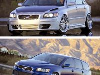 Volvo Evolve S40 and V50 SV (Special Vehicle) at the 2004 SEMA, Las Vegas, USA