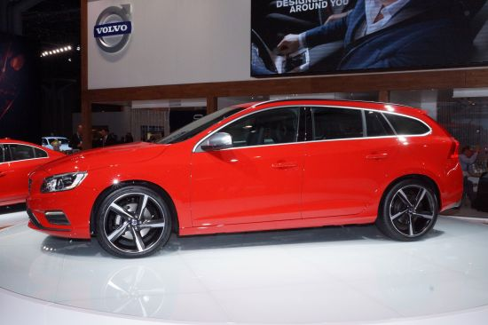 Volvo V60 R-Design New York
