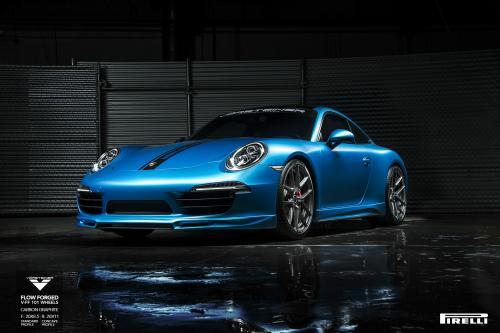 Тюнинг ателье Vorsteiner доработала Porsche 911 Carrera S