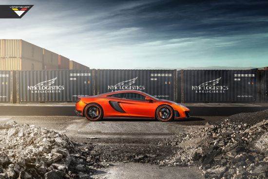 Vorsteiner McLaren MP4-VX Volcano Orange