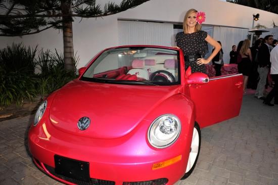 VW Beetle Convertible Barbie Edition