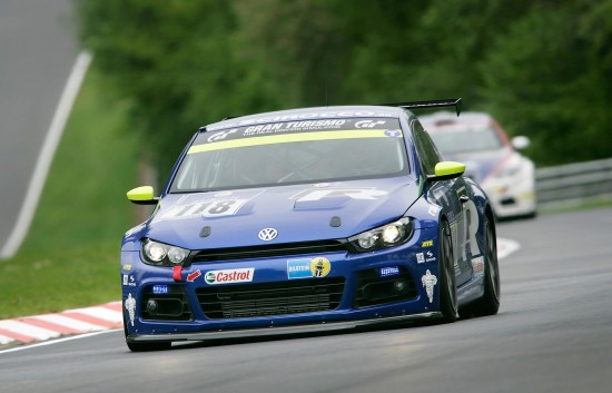 VW Scirocco GT24 at Nurburgring 24hrs
