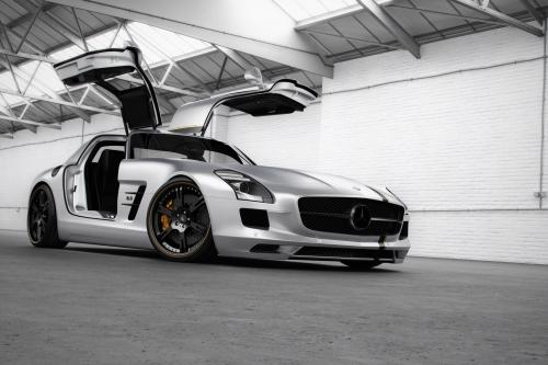 Wheelsandmore McLaren MP4-12C и SLS AMG