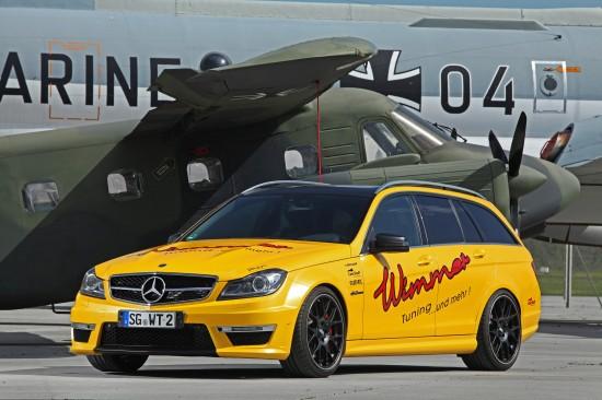 Wimmer Rennsporttechnik Mercedes-Benz C 63 AMG