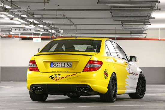 Wimmer RS Mercedes C63 AMG Performance