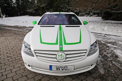 Mercedes-Benz CL 500 нумерации с помощью обруча работ